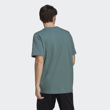 Men Originals Green Adicolor Classics Trefoil Tee