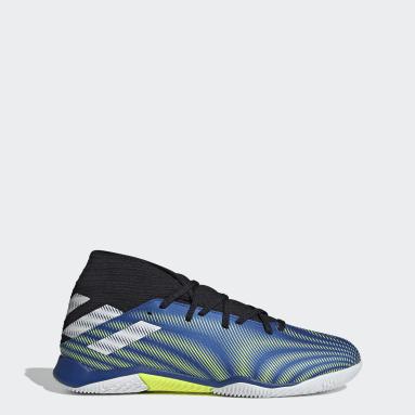 Men's Soccer Blue Nemeziz.3 Indoor Shoes