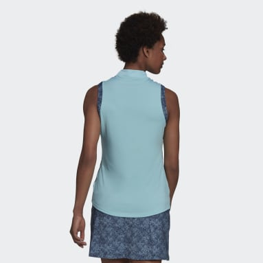 Ženy Golf modrá Polokošile Ultimate365 Sleeveless