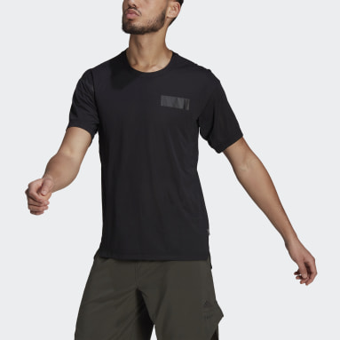 Men City Outdoor Black Agravic Trail All-Around Parley Tee
