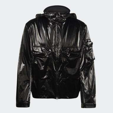 Men Y-3 Black Y-3 CH2 Metallic Flight Jacket