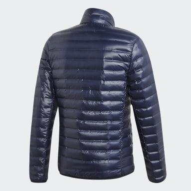 Männer City Outdoor Varilite Daunenjacke Blau