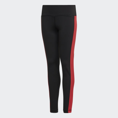 Girls Yoga Sort Believe This Bold tights
