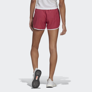 Women's Running Pink Marathon 20 Shorts