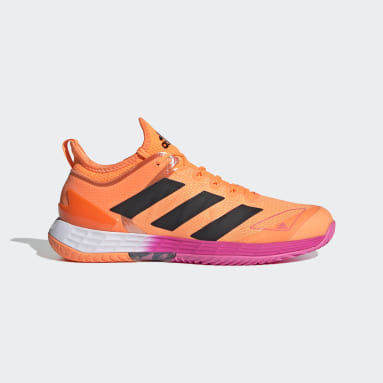 Tennis Orange Adizero Ubersonic 4 Tennis sko