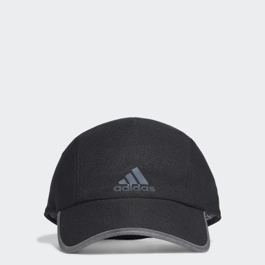Running Black AEROREADY Runner Mesh Cap