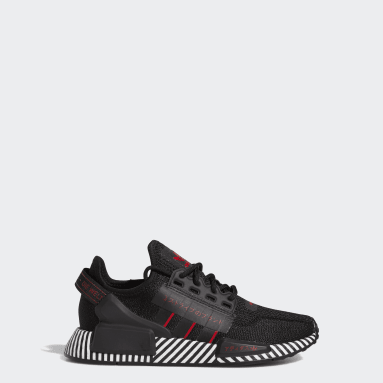 Youth Originals Black NMD_R1 V2 Shoes