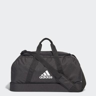 Fodbold Sort Tiro Primegreen Bottom Compartment sportstaske, medium