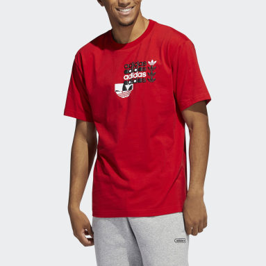 Men Originals Red Forum Tee