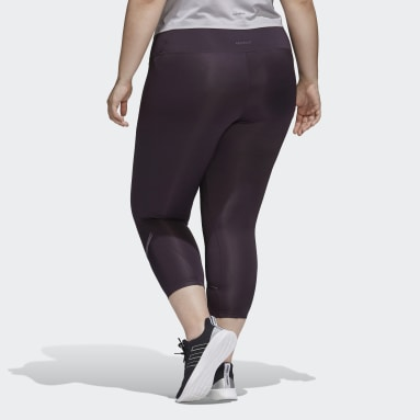 Glam-On Tights (Plus Size) Fioletowy