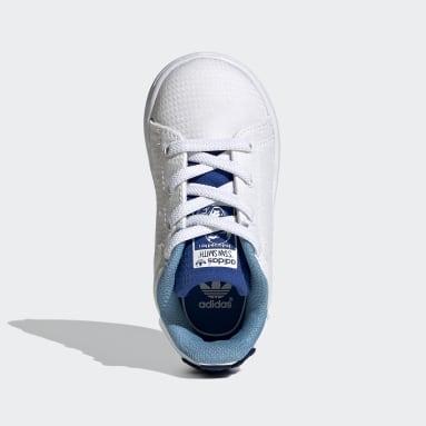 Chaussure Stan Smith Primeblue Blanc Enfants Originals