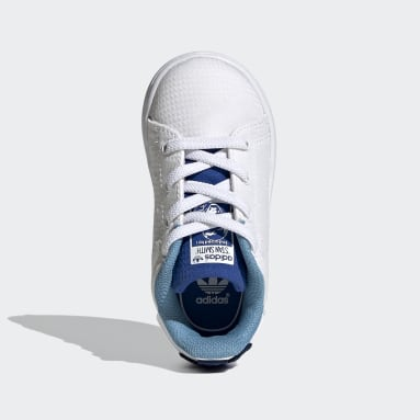 Kinder Originals Stan Smith Primeblue Schuh Weiß