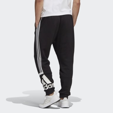 Men's Essentials Black Essentials Logo Colorblock Cuff Pants