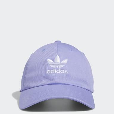 Men's Originals Purple Relaxed Strap-Back Hat