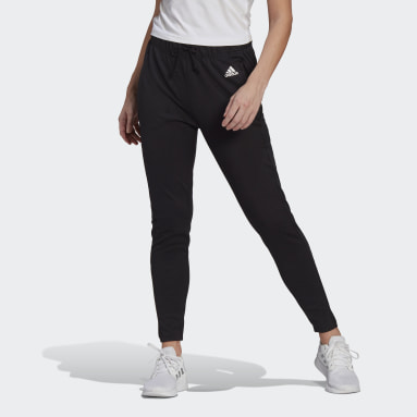 Women Training Black adidas Designed To Move AEROREADY Pants