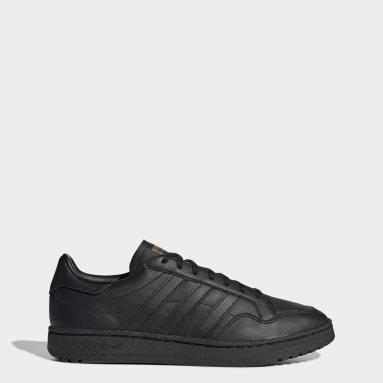 Men's Originals Black Team Court Shoes