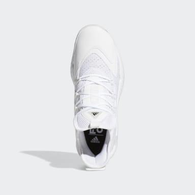 Basketball Pro Boost Low Basketballschuh Weiß