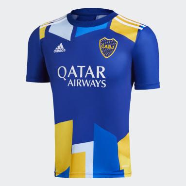 Tercera camiseta Boca Juniors 20/21 Azul Niño Fútbol