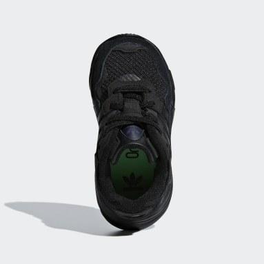 Infant Originals Black Yung-96 Shoes