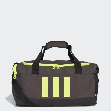 Handball Grey Essentials 3-Stripes Duffel Bag Small