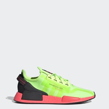Men Originals Green NMD_R1 V2 Shoes