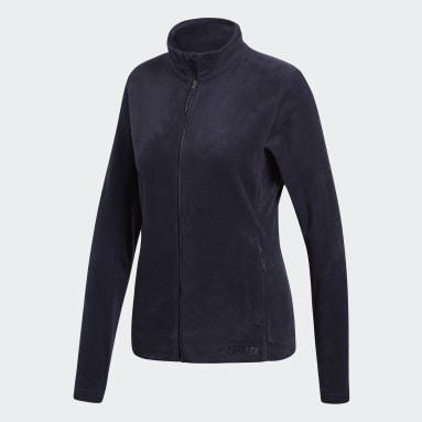 Women TERREX Blue Tivid Jacket