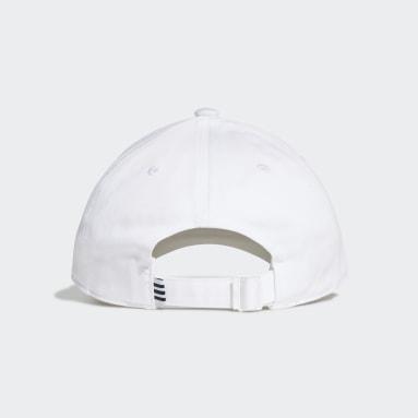 Boné Trefoil Baseball (UNISSEX) Branco Originals