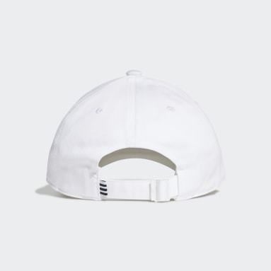 Originals White Trefoil Baseball Cap
