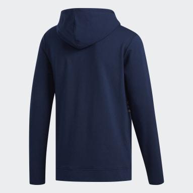 Sweat-shirt à capuche léger Bleu Hommes Golf
