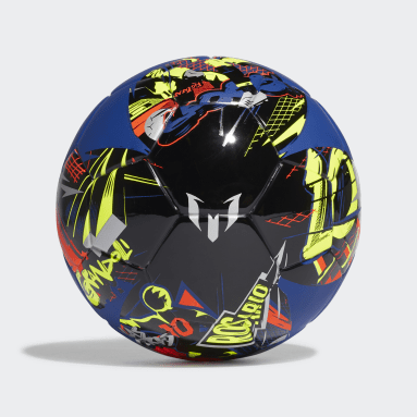 Mini ballon Messi Bleu Football