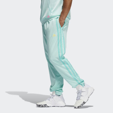 Men Basketball Turquoise Donovan Mitchell Tracksuit Bottoms