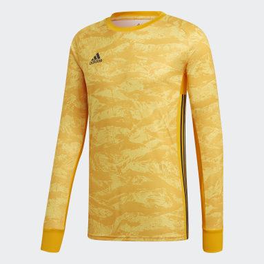 Men Football Yellow AdiPro 18 Goalkeeper Jersey