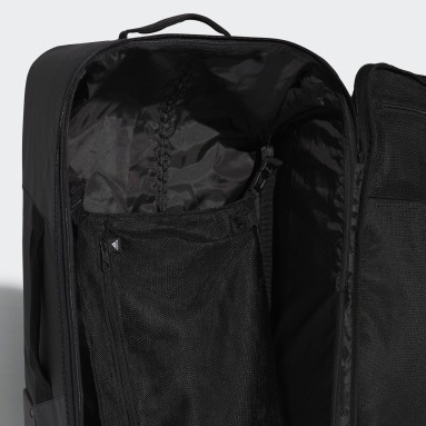 Udendørshockey Sort Trolley taske, medium