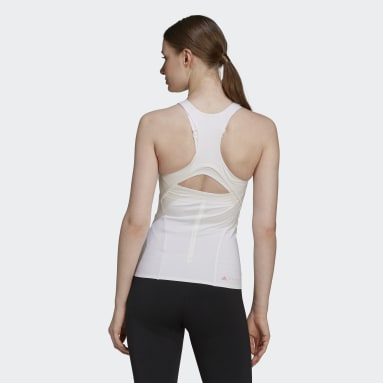 Women adidas by Stella McCartney White adidas by Stella McCartney TRUEPURPOSE Tank Top