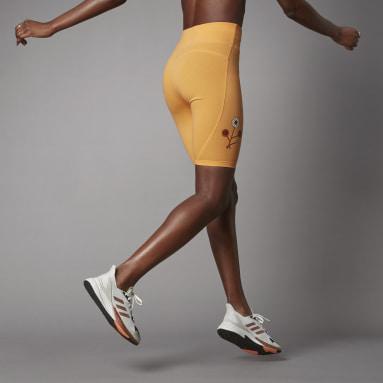 Dames Lifestyle Oranje Terra Love Korte Legging
