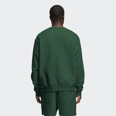 Originals Grön Pharrell Williams Basics Crew Sweatshirt (Gender Neutral)