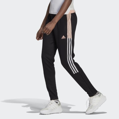 Women's Soccer Black Tiro Track Pants