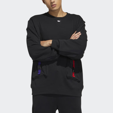 Sweat-shirt Crew CNY noir Hommes Originals