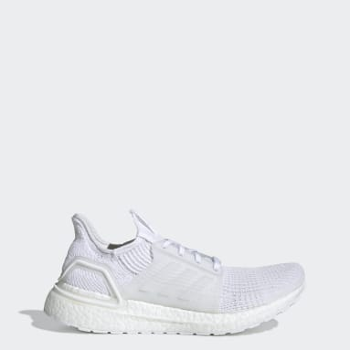 Men Running White Ultraboost 19 Shoes
