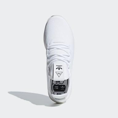 Frauen Originals Pharrell Williams Tennis HU Schuh Weiß