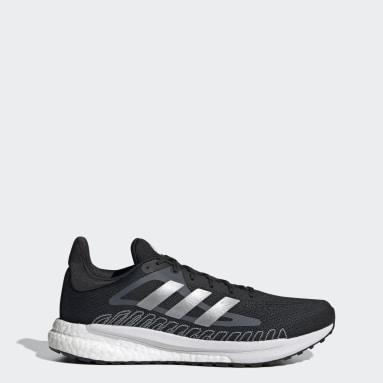 Men Running Black SolarGlide Shoes
