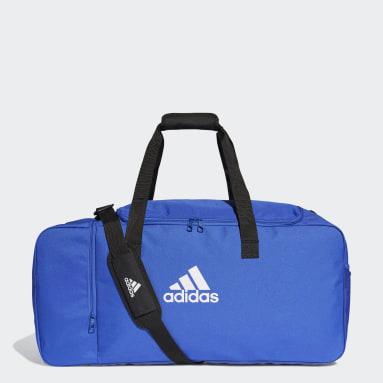 Fodbold Blå Tiro sportstaske, large