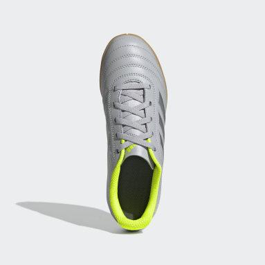 Kids 4-8 Years Football Grey Copa 20.4 Indoor Boots