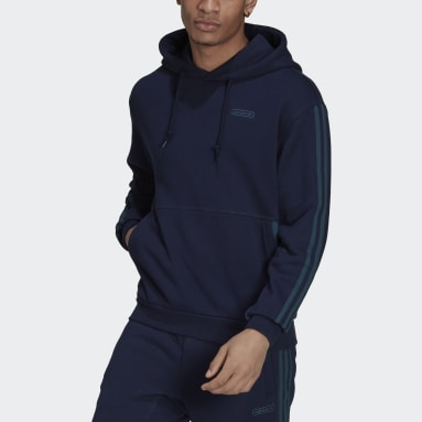 Men Originals Blue Hoodie