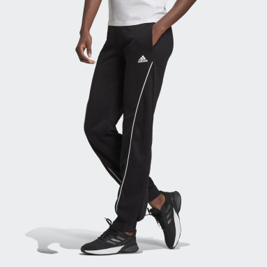 Women Sport Inspired Black adidas Essentials Logo Pants