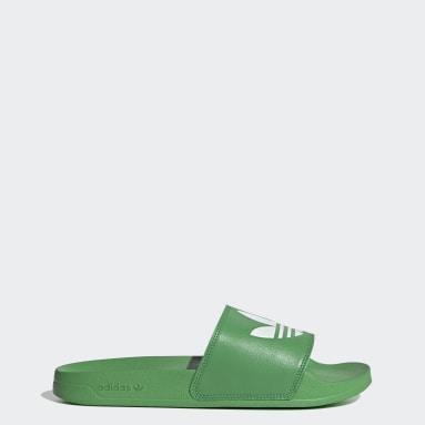 Claquette Adilette Lite vert Originals