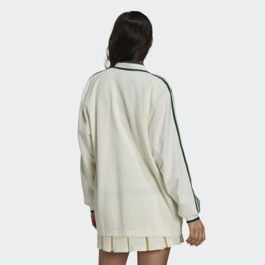 Cardigan Tennis Luxe blanc Femmes Originals