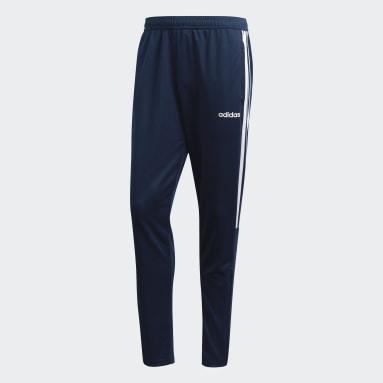 Pantalón de entrenamiento Sereno 19 - Pretina Media Azul Hombre Fútbol