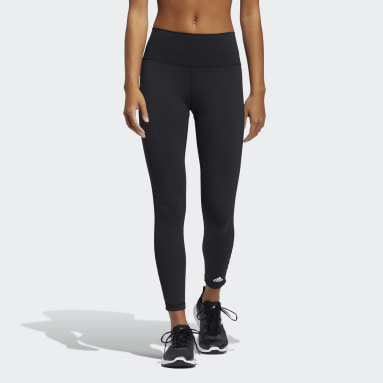Women Yoga Black Believe This 2.0 Lace-Up 7/8 Tights