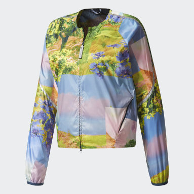 Chamarra Run adizero Nature Print Multicolor Mujer adidas by Stella McCartney